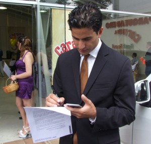 AHMAD ASHRAFI CEO OF INCA´S TREASURE ECUADOR